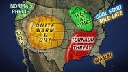 AccuWeather.com released its spring weather outlook this morning, and it includes seasonable weather that one doesn't need a meteorology degree to predict: winter storm chances for the East Coast in February and March and milder temperatures not until April and May.