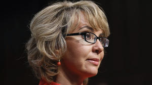 Gabrielle Giffords opens Senate gun hearing with plea: 'Be bold'