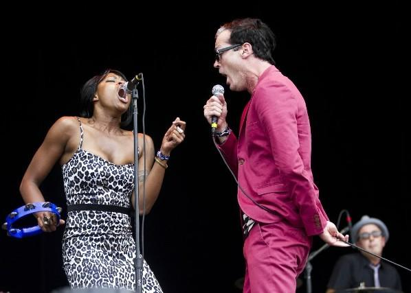 Fitz and the Tantrums perform at Lollapalooza in Grant Park Aug. 6, 2011.