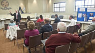 Congressman Brett Guthrie met with about two dozen Boyle County residents during a community forum Tuesday at Danville city hall.