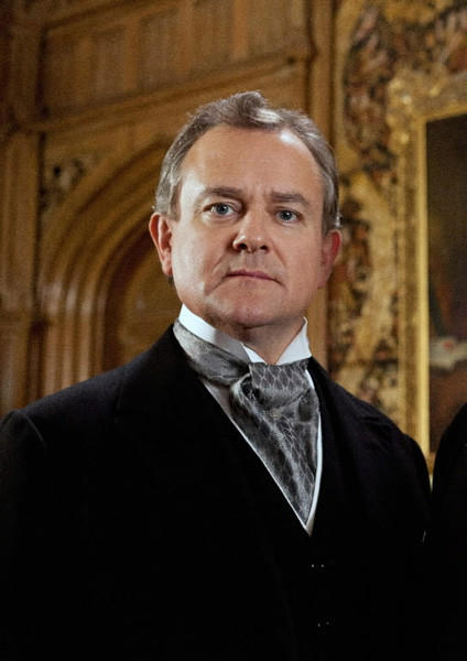 Hugh Bonneville plays the aristocratic Early of Grantham on PBS' 'Downton Abbey.' The drama centers on the Crawley family and their servants. Season 3 airs Sundays through February 17 on PBS.