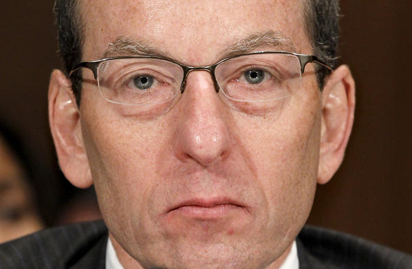 Assistant Atty. Gen. Lanny A. Breuer announced Wednesday that he is stepping down after running the Justice Department's Criminal Division the last four years.