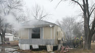 Photos: Augusta Mobile Home Fire