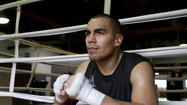 Carlos Molina next to ring