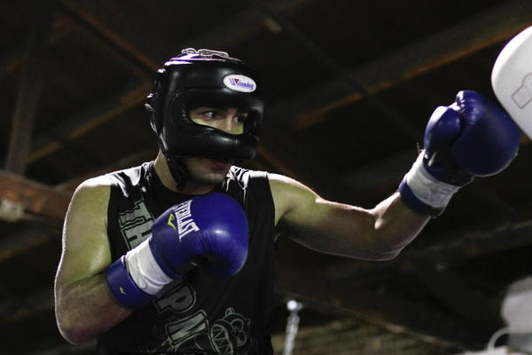 Carlos Molina spars for 15 rounds each Saturday leading up to a big fight.