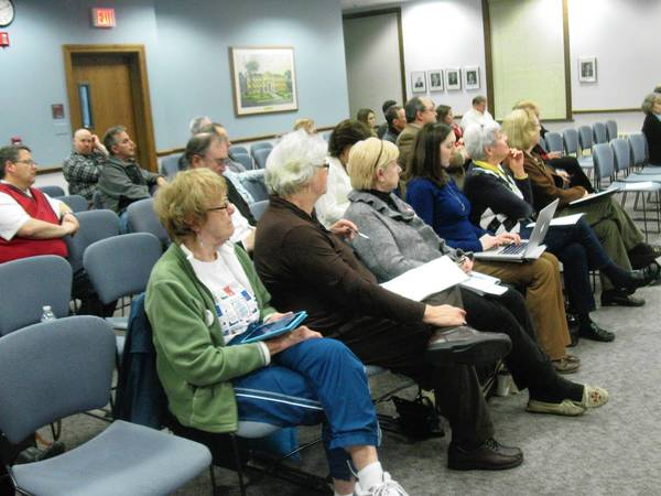 Approximately 30 people attended Monday night's planning meeting to listen to ideas for Wheaton's new downtown strategic and streetscape plan. City officials say they want a more competitive downtown.
