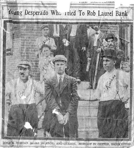 1911 robbery attempt in Laurel