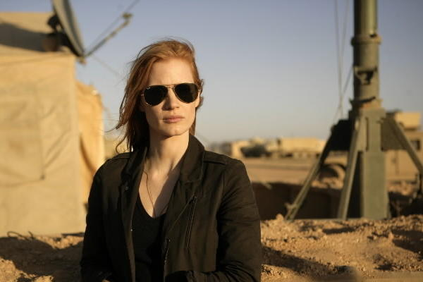 "Jessica Chastain plays Maya, who has dedicated her life to finding Osama Bin Laden, in ""Zero Dark Thirty."""