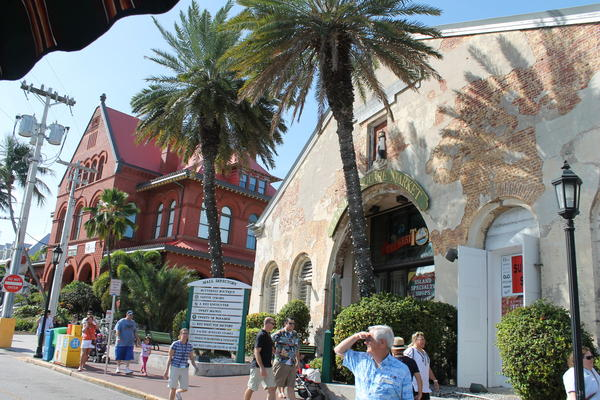 See historic sites in Key West, including the Custom House.