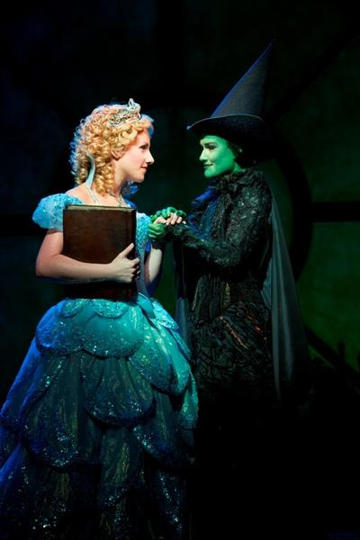 Jeanna de Waal and Christine Dwyer in Wicked at Broward Center