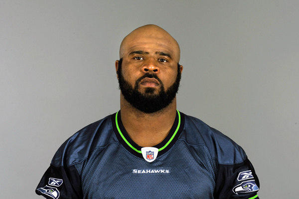 Seattle Seahawks linebacker Leroy Hill.