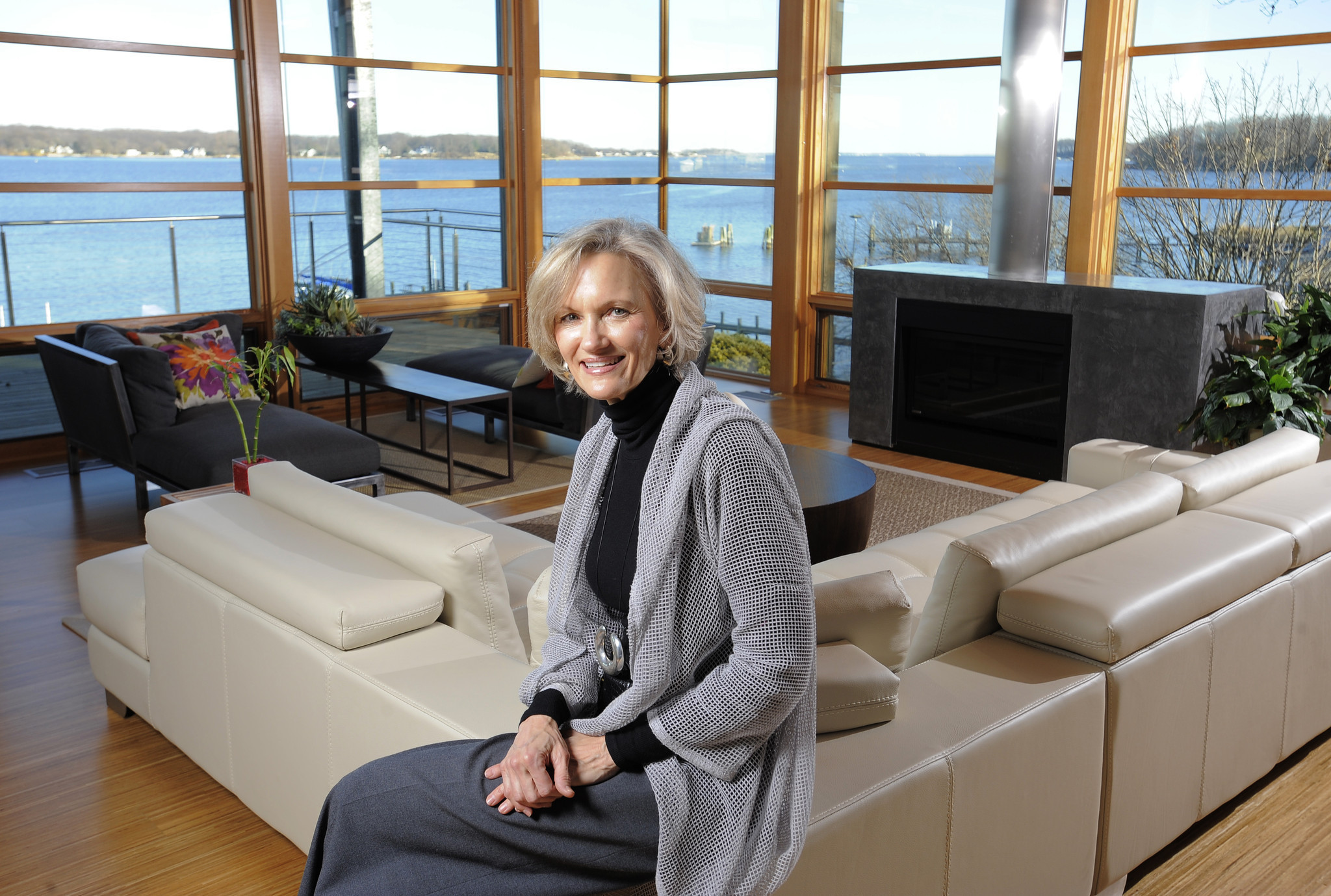 Beau Architect Cheryl Mohr Builds A Sustainable Home On The South River In  Edgewater   Baltimore Sun
