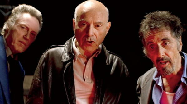 "Christopher Walken, Alan Arkin and Al Pacino star in ""Stand Up Guys."""