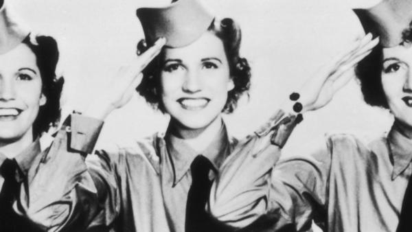 The last surviving member of the Andrews Sisters, died at 94. The lead singer of the group that entertained U.S. service personnel overseas during World War II dies at her home in Northridge. She announced the war's end in 1945 to troops at a concert in Italy.
