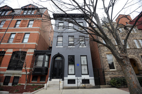 F. Scott and Zelda Fitzgerald's Bolton Hill rental, 1307 Park Ave.