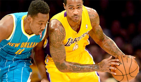 Earl Clark scored 20 points and had 12 rebounds against the New Orleans Hornets on Tuesday.