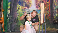 "A local girl and her family will be in the national spotlight during an episode of ""Toddlers and Tiaras"" Wednesday night."