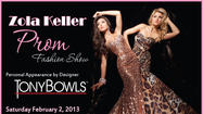 Zola Keller stages Prom fashion shows