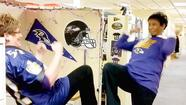 Ravens' Purple Fever spreads in Howard school system before Super Bowl