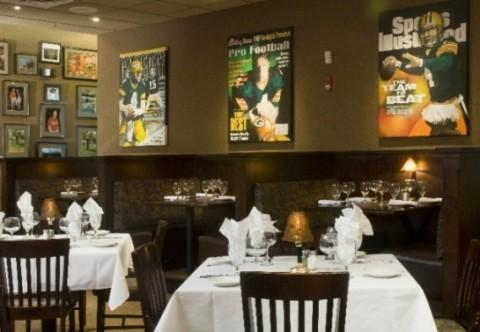 A steakhouse blocks from Lambeau has fresh seafood including Maryland crab cakes, and even Favre''s favorite, jambalaya.