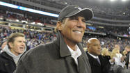 After nine tantalizing seasons, Steve Bisciotti finally stood exactly where he wanted to be, encircled by jubilant Ravens players and cradling the hollow silver football that said his team was on its way to the Super Bowl.