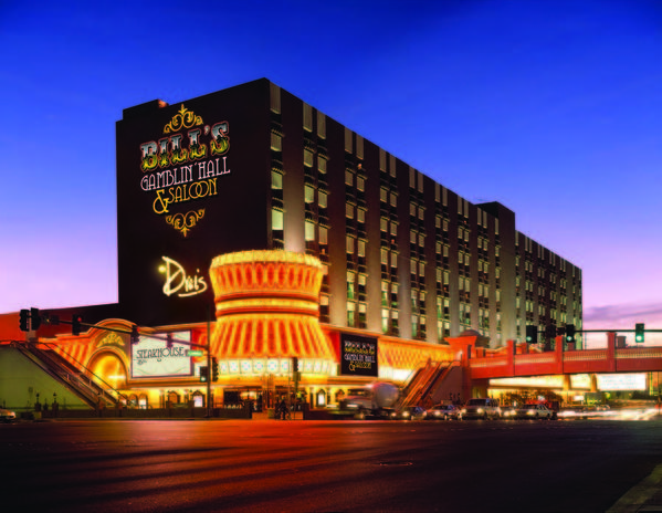 Bill's Gamblin' Hall at Las Vegas Boulevard and Flamingo Road will close Feb. 4. Its owners plan to reopen it in 2014 as a boutique hotel and casino.