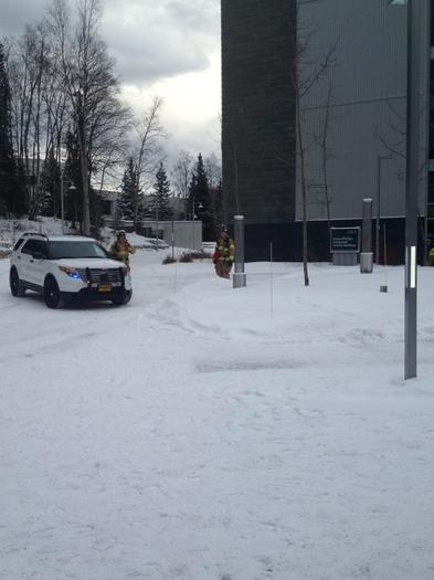 UAA Science Building Evacuated After Chemical Spill