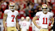 NEW ORLEANS — Barely two months ago, Alex Smith stood alone under center as the NFL's hottest starting quarterback for one of its best teams.