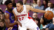 Forward Tayshaun Prince, who has played his entire 11-year career with the Detroit Pistons, is headed to the Memphis Grizzlies in a three-team trade that will send forward Rudy Gay to the Toronto Raptors and point guard Jose Calderon to the Pistons, according to multiple reports citing unnamed sources.