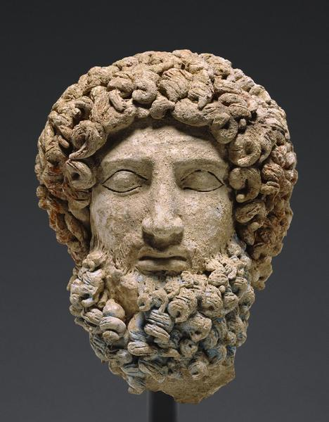 An ancient head of the Greek god Hades that Getty Museum officials recently said they will return to Sicily after research uncovered evidence that it had been looted.
