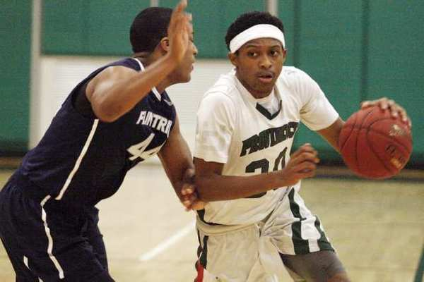 Flintridge Prep big men held sophomore star Marcus LoVett Jr., right, to a team-high 18 points, 12 of which came from the free-throw line.