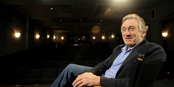 "Actor Robert De Niro is nominated for an Oscar for his role in ""Silver Linings Playbook."""