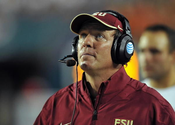 FSU head coach Jimbo Fisher might be looking for supreme guidance in trying to shore up the Seminoles 2013 recruitng class.
