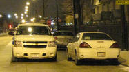Five people were wounded in shootings across Chicago overnight, including two men hurt while sitting in a car in Austin, police said.