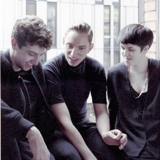 "From left, producer Jamie Smith and vocalists Oliver Sim and Romy Madley Croft are the xx, playing Feb. 5 at the Fillmore Miami Beach in support of their second album, ""Coexist."""