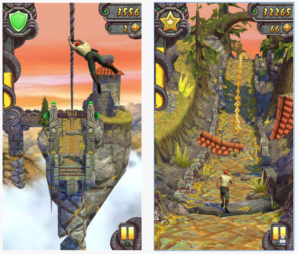 """Temple Run 2"" reached 50 million downloads in 13 days, the fastest any mobile game has turned the feat."