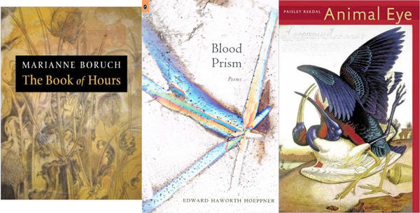The books that are finalists for the Kingsley Tufts Poetry Award.