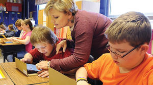 Mini iPads push Clark County schools into future