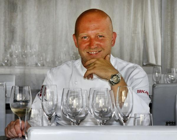 """Top Chef"" contestant Stefan Richter."