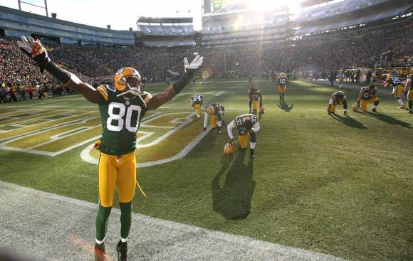 Green Bay Packers receiver Donald Driver