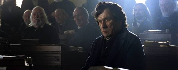 "Tommy Lee Jones as Republican Representative Thaddeus Stevens in director Steven Spielberg's ""Lincoln."""