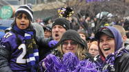 Remember how everyone threw on all their purple and hauled their spirited selves down to the Harbor Monday to see the Ravens off?