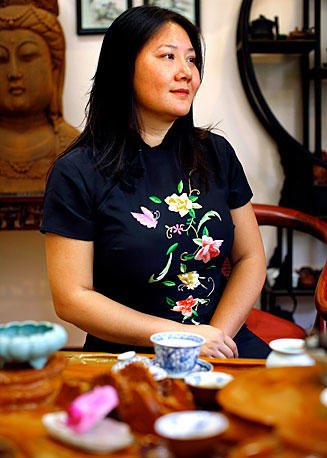 """There's a transcending level of this tea. It's a very personal, life-altering experience,"" Imen Shan says."