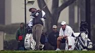 Citing a back injury, Vijay Singh withdrew from the Phoenix Open on Thursday, a day after saying he used deer-antler spray, but was unaware that it contained a banned substance.