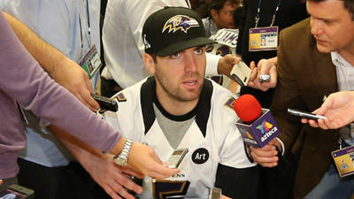 Joe Flacco not concerned about contract situation