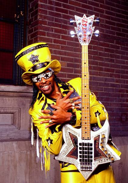 Bootsy Collins will headline the 2013 Hampton Funk Fest at Hampton Coliseum.