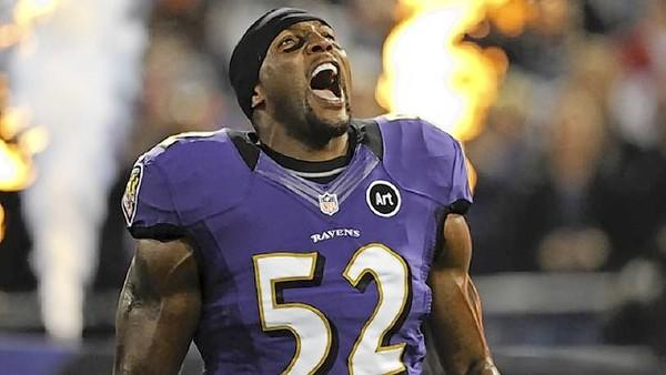 Ray Lewis and the Baltimore Ravens will play against the San Francisco 49ers in the Super Bowl on Sunday. You can watch the game for free on the IMAX screen at the Virginia Air & Space Center, or for $19.95 with a dinner buffet at Cinema Cafe.