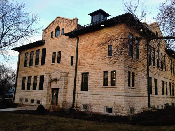 The Music Makers of Western Springs will soon move out of this building on Grand Avenue.