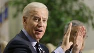 "WASHINGTON – Vice President Joe Biden met Thursday with Senate Democrats to brief the caucus about the rationale behind the administration's recommendations on guns, arguing that, in the wake of the Newtown, Conn., shooting, the nation ""will not understand if we don't act."""