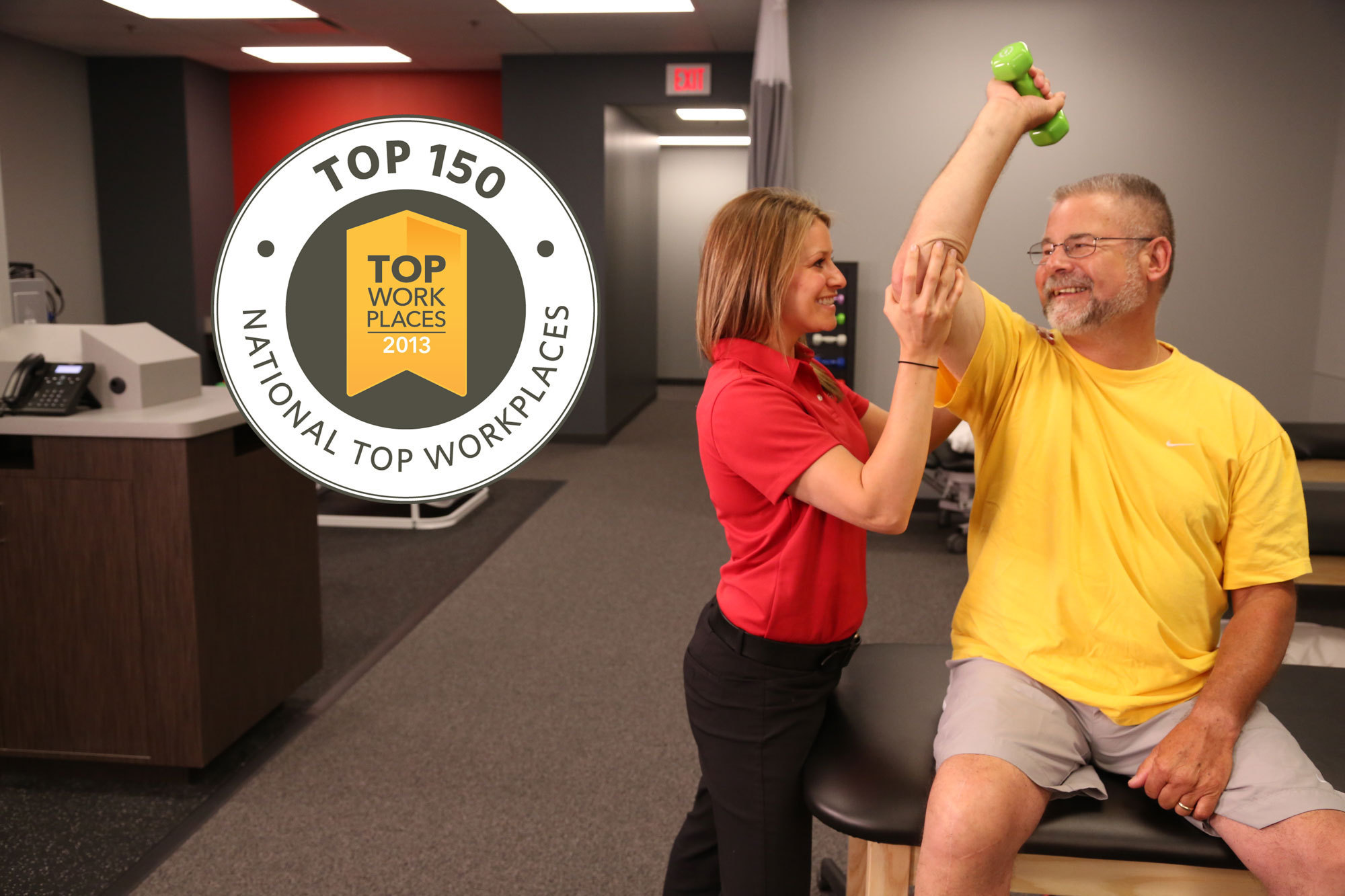 Article on physical therapy - Ati Physical Therapy Named Among Top 10 Healthcare Workplaces In The Nation Chicago Tribune